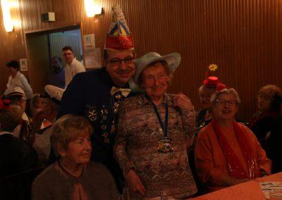 Fahrt zum Seniorenfasching mit unseren Senioren