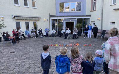 08.10.2021 Kita St. Sebastian mit schönen Oktober Basteleien und Süßem …